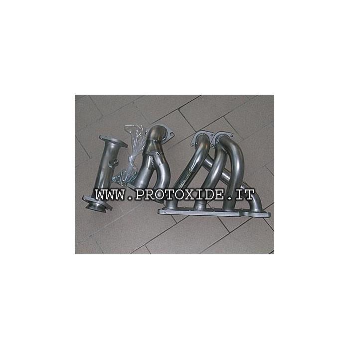 Edelstahl-Auspuffkrümmer Renault Clio 1.800-2.000 16V 4-2-1 Stahlverteiler für Saugmotoren