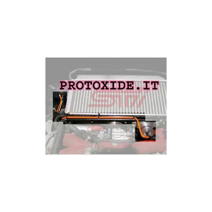 Silikonschlauch 2,4 mm Innen fluoreszierendem Orange Gerade Silikonschlauchhülsen