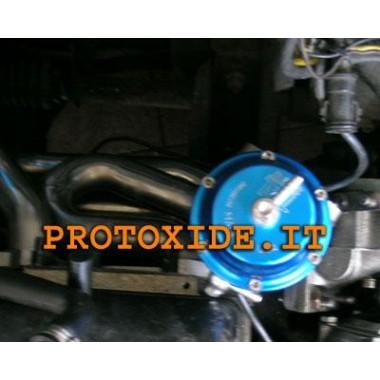 Collecteur d'échappement avec soupape de décharge externe Renault 5 Gt Collecteurs en acier pour moteurs turbo essence