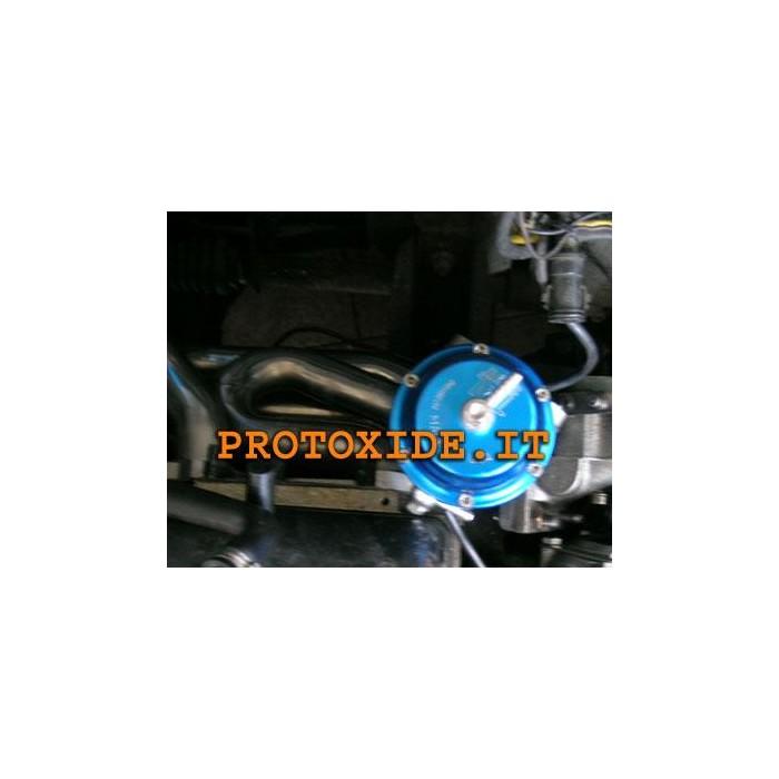 Pakosarja ulkoisten hukkaportti Renault 5 GT Turbo bensiinimoottoreiden teräsputket