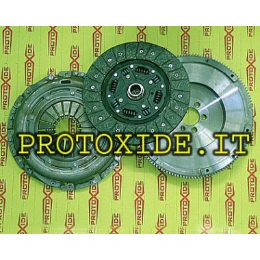 Single-mass flywheel kit VW-AUDI-reinforced 90-110 Steel flywheel kit complete with reinforced clutch