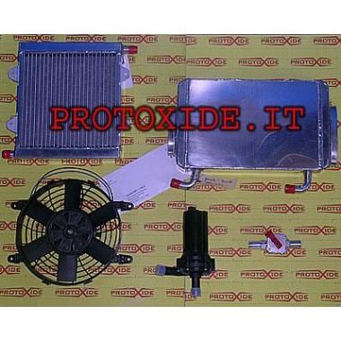 Intercooler-kit-vzduch-voda rozhranie pre Mini Cooper Intercooler vzduch-voda