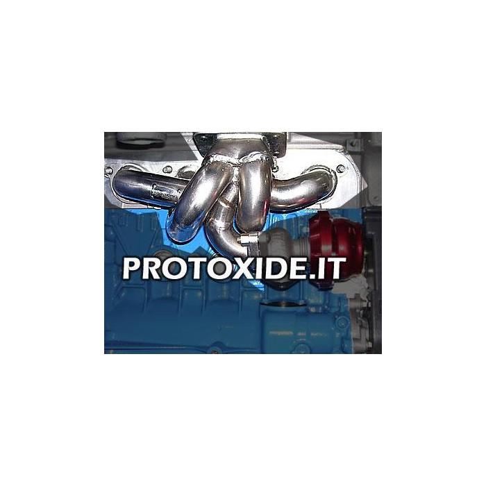 att.wastegate外部T3-T28-トライアルの形質転換ターボルノークリオの排気マニホールド1.8〜16V ターボガソリンエンジン用スチールマニホールド