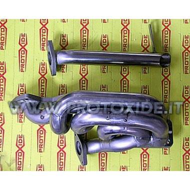 Udstødningsmanifold ekstern wastegate Lancia Delta - Fiat Coupe 16v turbo T3 Stål manifolds til Turbo benzin motorer