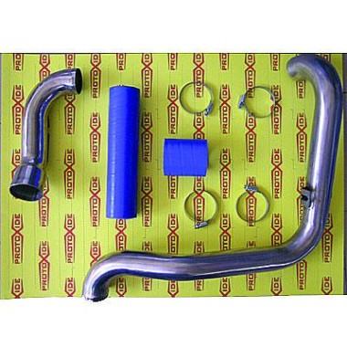 Aço mangas Fiat Punto GT com acessórios de silicone azul