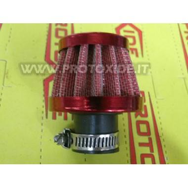 Filtro de vapor de aceite ROJO de 18 mm Vapores de aceite Filtrini