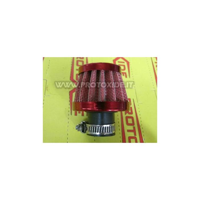 Filtro per vapori olio 18mm ROSSO Filtrini vapori olio