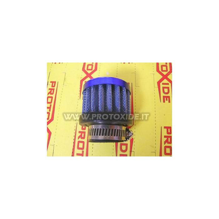 Oil vapor filter 25mm BLUE Small filtier oil vapors