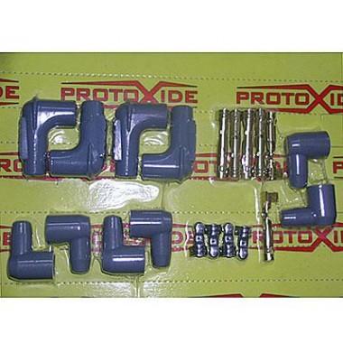 Hottes de septembre et bornes de câble 1 kit de bougie Câble de bougie et terminaux DIY