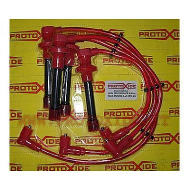 Cavi candela per Fiat Punto 1.2 16V 2a serie rossi alta conducibilità  Cavi Candela specifici x auto