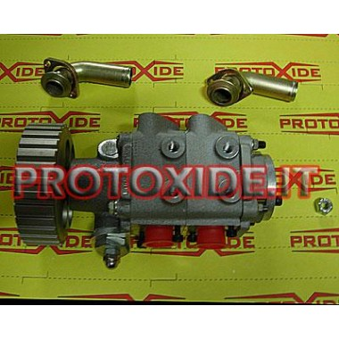 Dry sump oil pump for 2-stage Mechanical and electric oil pumps