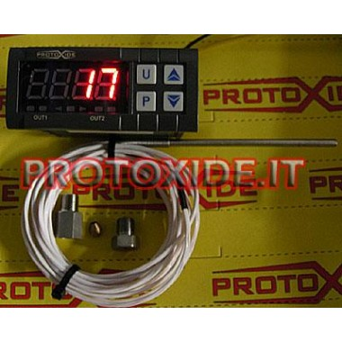 Air Temperature Gauge Kit with memory Temperature measurers