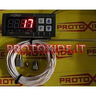 Lufttemperaturanzeige mit Memory-Kit Temperaturmesser