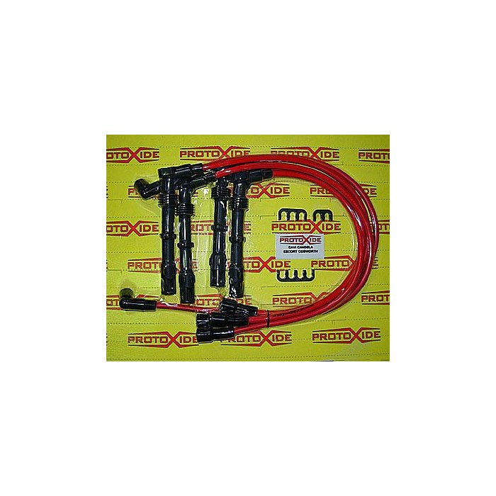 Spark plug wires for Ford Sierra / Escort Cosworth Specific spark wire plug for cars