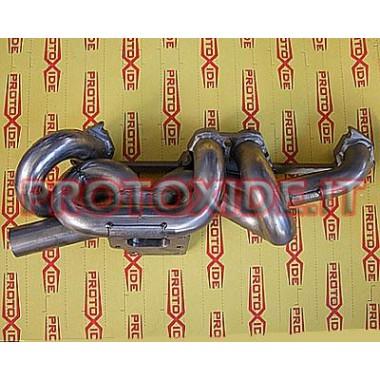 Uitlaatspruitstuk Fiat Uno Punto Gt met att. externe wastegate Stalen manifolds voor Turbo benzinemotoren