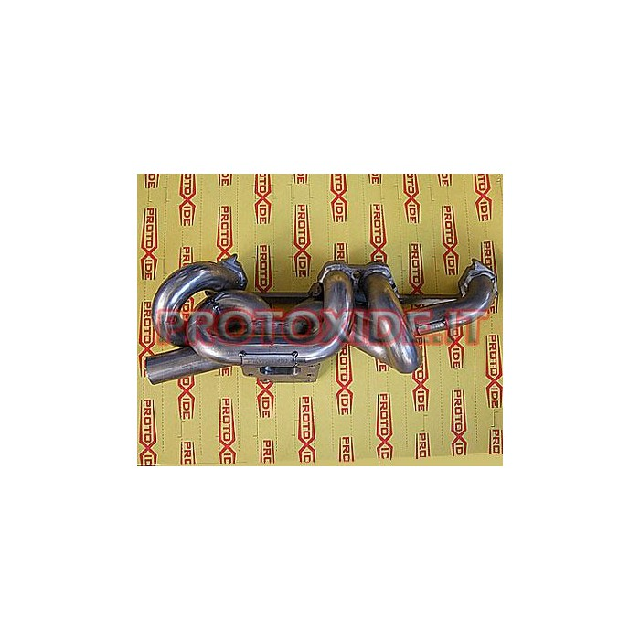 Exhaust Manifold Fiat Uno Punto Gt with att. external wastegate Stainless steel manifolds for Turbo Gasoline engines