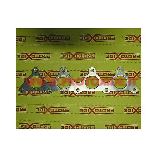 Guarnizione collettori scarico rinforzata Hyundai Coupe condotti circolari Guarnizioni rinforzate collettori