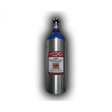 Bombola protossido d'azoto in alluminio Conforme CE 4kg -Vuota-
