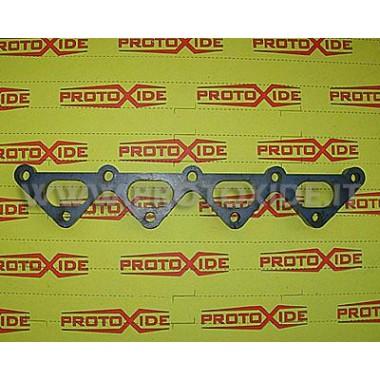 Flangia collettori scarico Fiat Punto sporting 1.200 16v prima serie Flange collettori di scarico