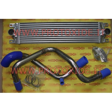 "Intercooler frontale maggiorato ""KIT"" specifico per Fiat Punto GT Intercooler Aria-Aria"