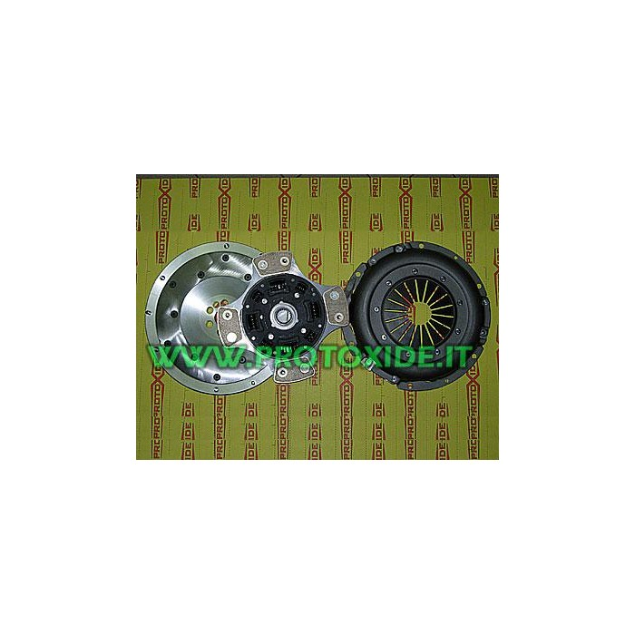 Flywheel clutch Kit + copper + aluminum pressure plate Fiat Punto GT Steel flywheel kit complete with reinforced clutch