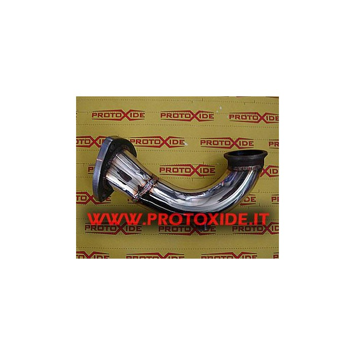 Exhaust downpipe for Grande Punto 1.9 Mjet 120-130hp Downpipe Turbo Diesel and Tubes eliminates FAP
