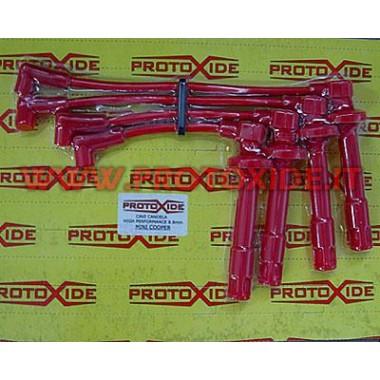 Cavi candela ad alta conducibilità rossi per Minicooper R53 Cavi Candela specifici x auto