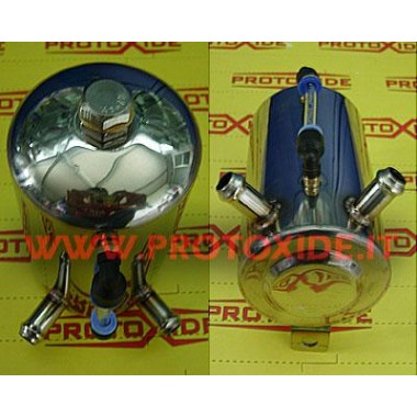 Serbatoio con indicatore di livello con 2 tubi Vaschette per olio e Serbatoi carburante