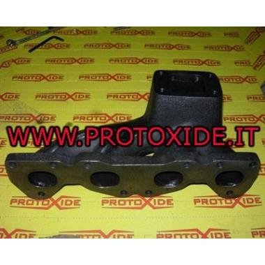 Colectores de escape de hierro fundido para Fiat Bravo 1.6 16v turbo T2 Coleccionistas en fundición o fundición.