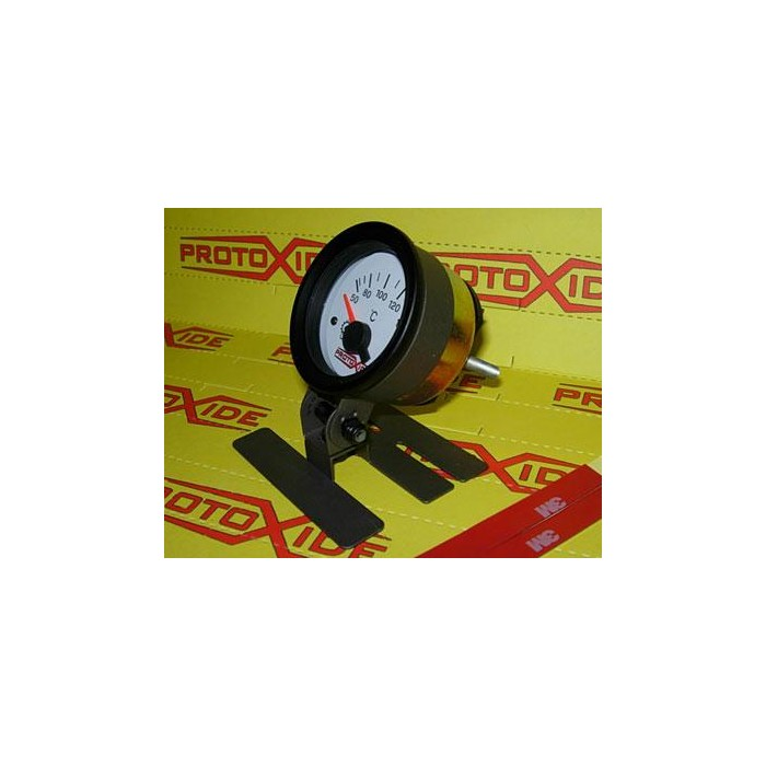 Metal gauge to clip to a position with 52mm hole Instrument holders and frames for instruments