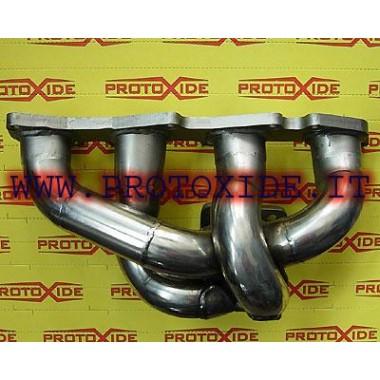 Collecteur d'échappement Fiat-Lancia-Alfa 1.9 JTD 16V turbo 2.4 Collecteurs en acier pour moteurs Turbodiesel