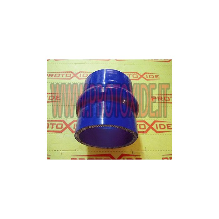 Bellows 60mm blue silicone Straight silicone hose sleeves