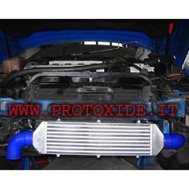 Intercooler frontale maggiorato -KIT- specifico per Fiat Coupè 2000 Turbo 20v Intercooler Aria-Aria