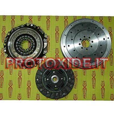 Kit aluminium svinghjul, trykplade, kobling forstærket Minicooper Stål svinghjul kit komplet med forstærket kobling