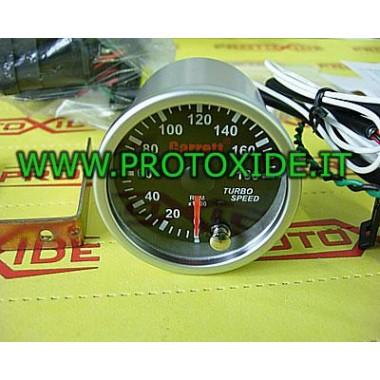 Turboahdin 52mm kierroslukumittari Sähköinen instrumentointi vaihtelee