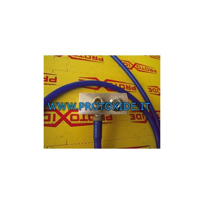 Gauge adapter for Peugeot 207 THP or Mini R56 R60 Pressure gauges Turbo, Petrol, Oil