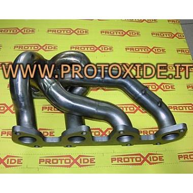 Saxo Peugeot Collecteur d'échappement 106-206 1.4-1.6 8V Turbo Collecteurs en acier pour moteurs turbo essence