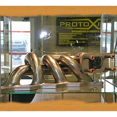 Collettore scarico acciaio inox Lancia Delta 2000 16v Turbo - Fiat Coupe 2.000 16v Collettori in acciaio per motori Turbo Ben...
