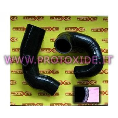 tuyaux en silicone noirs Lancia Delta 16V Turbo Manches spécifiques pour voitures