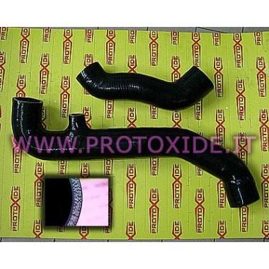 Tuyaux de silicium renforcés noirs Renault 5 GT Turbo Manches spécifiques pour voitures