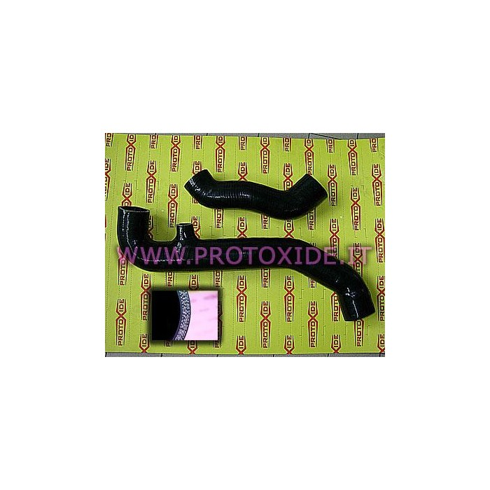Reinforced silicon hoses blacks Renault 5 GT Turbo Specific sleeves for cars