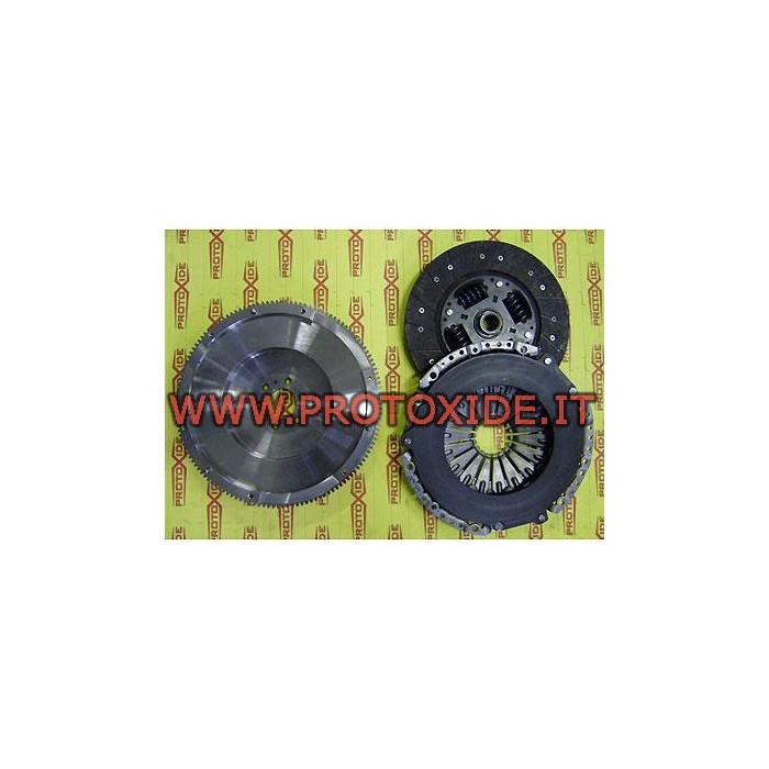 Reinforced single-mass flywheel kit AUDI, VW TFSI max 58kgm Steel flywheel kit complete with reinforced clutch