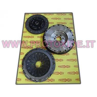 single-masse svinghjul kit forstærket alpha 147 - gt Stål svinghjul kit komplet med forstærket kobling