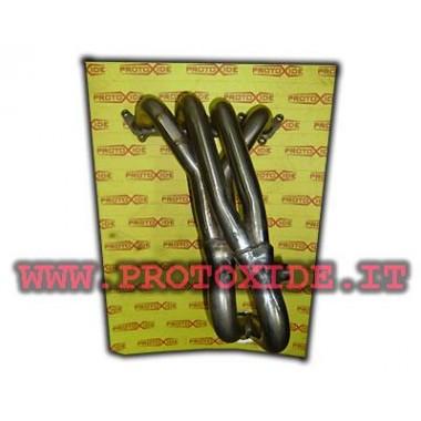 Ocelové výfukové potrubí Fiat Panda 100hp 1.400 16v 4-2-1 Ocelové rozdělovače pro aspirované motory