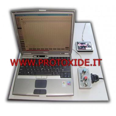 Unichip med konsollen Program Unichip Control Units, moduler og ledninger