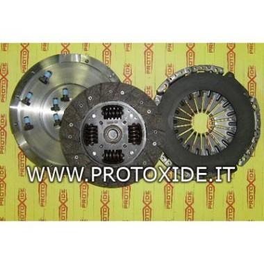 Kit Volano acciaio monomassa frizione rinforzata Fiat GrandePunto 1.9 JTD 120-130Hp