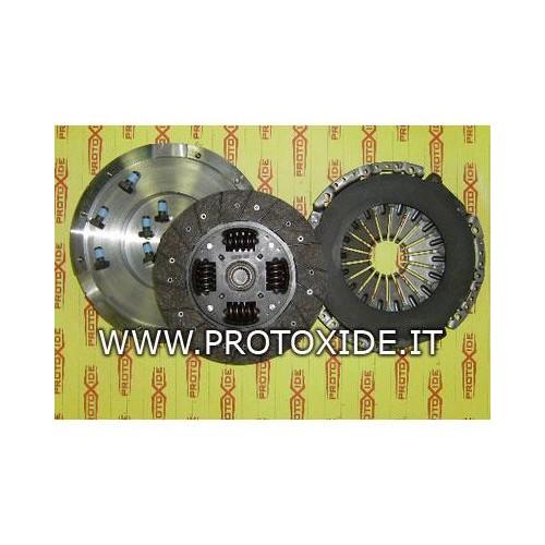 Kit Volano acciaio monomassa frizione rinforzata Fiat GrandePunto 1.9 JTD 120-130Hp Kit volano acciaio completi di frizione r...