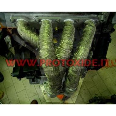 Benda kolektors un izpūtējs lava 4.5mx 5cm Pārsēji un termiskā aizsardzība