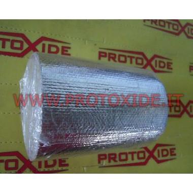 Barrera térmica adhesiva reflectante de 3,2 metros de largo Bendas de protección contra calor