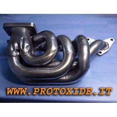"""Collettore scarico acciaio Lancia Delta 2000 16v Turbo """"lungo"""" Collettori in acciaio per motori Turbo Benzina"""